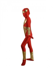 Child Iron Spider Armor Superhero Costume