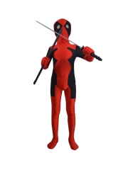 Child Newest Hot Deadpool Spandex Superhero Costume
