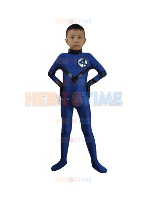 Children Fantastic Four Spandex Superhero Team Costume