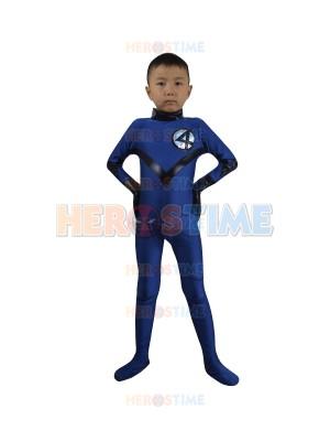 Children Fantastic Four Spandex Superhero Team Costume