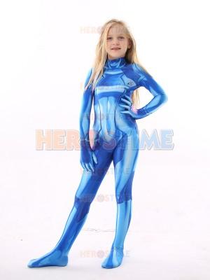 Kids Samus Zero Costume Kid Halloween Costume