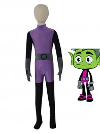 Beast Boy Comics Kids Superhero Costume