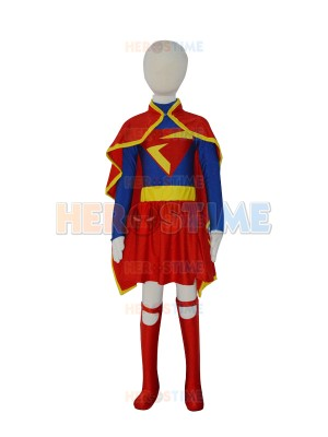 2014 New Supergirl DC Comics Superhero Suit