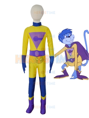 Kids Gleek Super Friends Wonder Twins Superhero Costume