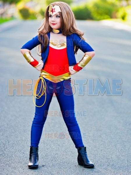 Wonder woman costume for 11 year olds-4175