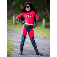 Kids The Incredibles 2 Violet Parr Printing Superhero Costume
