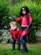 Kids The Incredibles 2 Violet Parr Printing Superhero Costume
