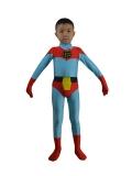 Kids Captain Planet Spandex Superhero Costume
