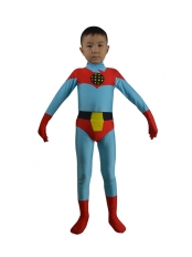 Kids Captain Planet Spandex Superhero Costume
