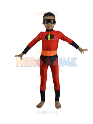 Kids The Incredibles Dash Superhero Costume
