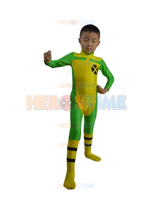 Kids X-men Rogue Superhero Costume