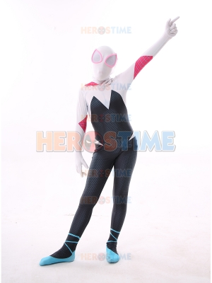 Into the Spider-Verse Kids Spiderman Costume Gwen Stacy  Halloween Costume