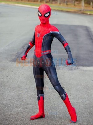Kid Spiderman Costume Far From Home Spiderman Kid Halloween Costume