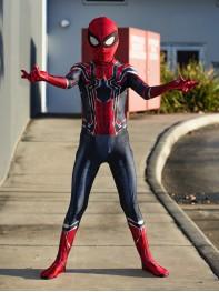 Kids Iron Spider Costume Iron Spiderman Homecoming Cosplay Suit