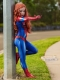 Mary Jane Suit MJ Spider Girl Kids Superhero Cosplay Costume