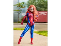 Mary Jane Suit MJ Spider Girl Kids Superhero Cosplay Costume
