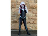Newest Gwen Stacy Ghost-Spider Kids Cosplay Costume