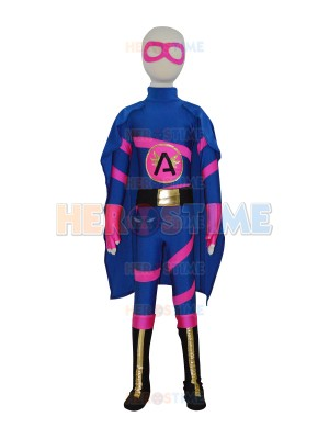Super Angelina Custom Girls Superhero Costume