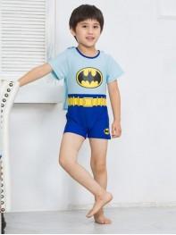 Kids' Superhero Swimsuit One-Piece Batman Swimsuit