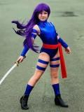 Newest Psylocke X-men Kids Cosplay Costume