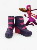 Big Hero 6 Honey Lemon Wedge Heel Cosplay Ankle Boots