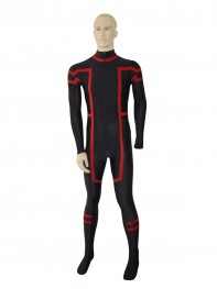 Black & Red New Custom Superhero Costume
