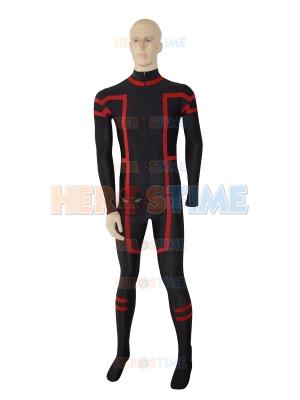 Black & Red New Custom Superhero Costume