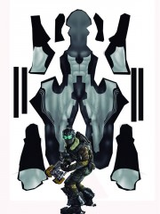 Isaac Clarke Dead Space 2 Mens Cosplay Costume