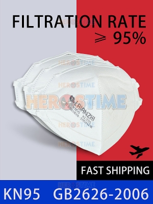 KN95 Respirator Dustproof Anti-smog Mask 95% Filtration Worldwide Fast Delivery
