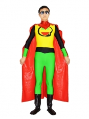 Captain Bolivia Spandex Superhero Costume
