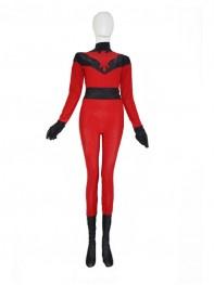 Crimson Hawk Red Custom Superhero Costume
