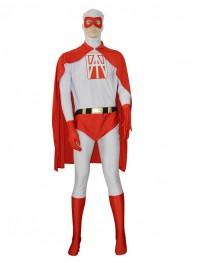 Custom Printing Logo Strong Superhero Costume