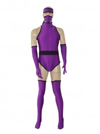 Custom Purple Ninja Superhero Costume