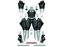 Danny Phantom Dyesub Printing Superhero Costume
