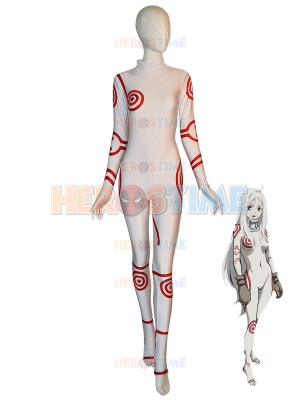 Shiro Suit Deadman Wonderland Cosplay Costume