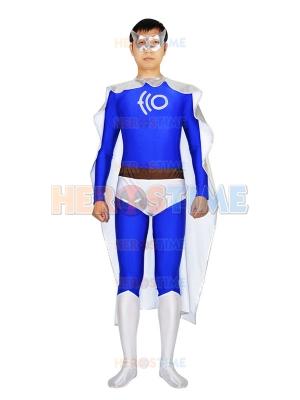 ECO Man Spandex & Metallic Superhero Costume