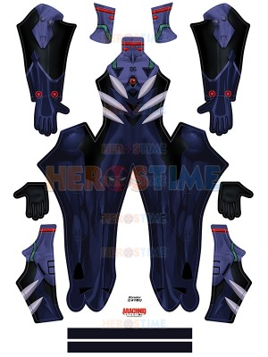 Kaworu Plugsuit Evangelion Cosplay Costume
