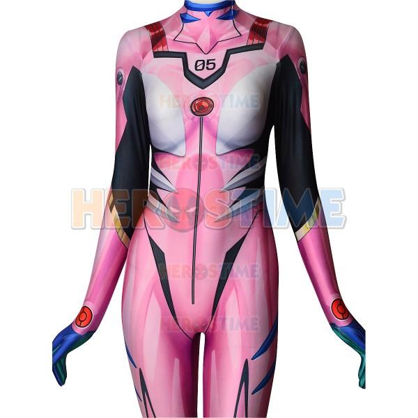 Mari Evangelion Costume Mari Makinami Illustrious Spandex Plugsuit
