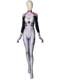 Rei Ayanami Evangelion Dyesub Printing Cosplay Plugsuit