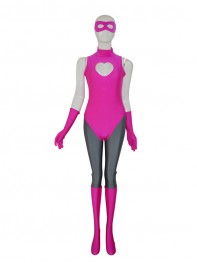 Hot Pink Custom Superhero Costume