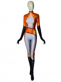 Volpina Miraculous Ladybug DyeSub Printing Superhero Costume
