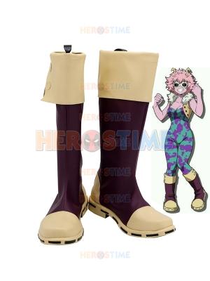 My Hero Academia Ashido Mina Cosplay Boots