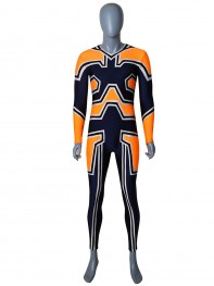 Endeavor Uniform Suit My Hero Academia Enji Todoroki Spandex Cosplay Costume