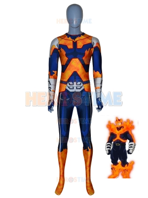 Endeavor Suit My Hero Academia Printing Cosplay Costume