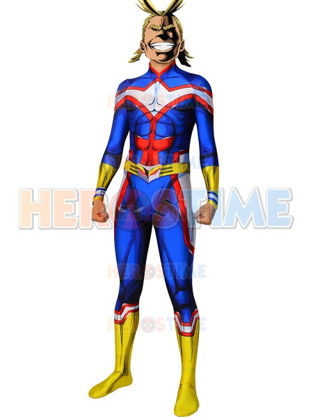 My Hero Academia All Might Male Cell Cosplay Costume