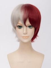 Todoroki Shoto My Hero Academia Gold Short Cosplay Wig