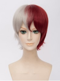 Todoroki Shoto My Hero Academia Gold Short Cosplay Wig