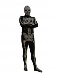 New Style Skeleton Lycra Spandex Superhero Costume