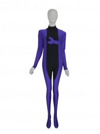 Purple Color Spandex Custom Superhero Costume