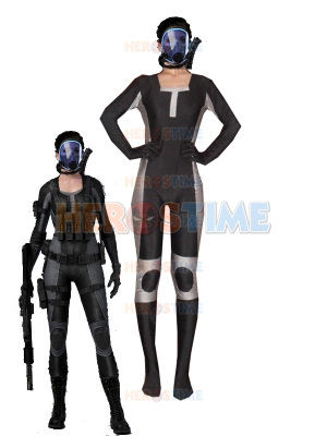 Resident Evil Lupo Spandex Superhero Costume